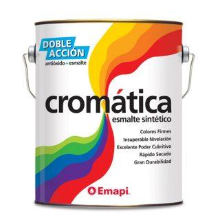 Esmalte sintetico 2 en 1 brillante cromatica EMAPI