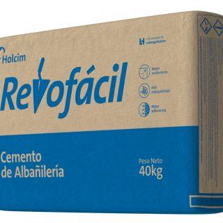 Cemento albañileria hercal revofacil 40kg HOLCIM