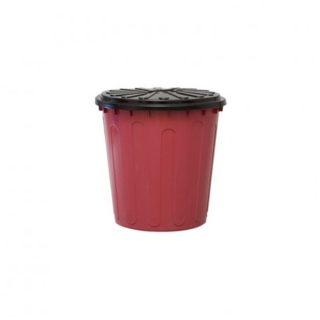 Tarro de residuo 34l con tapa GEMPLAST