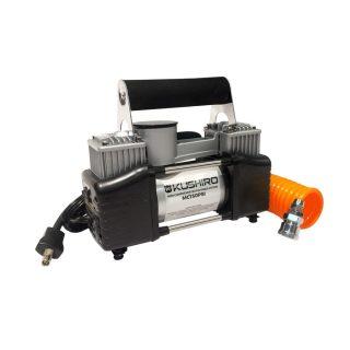 Minicompresor 12v 150 psi doble piston KUSHIRO
