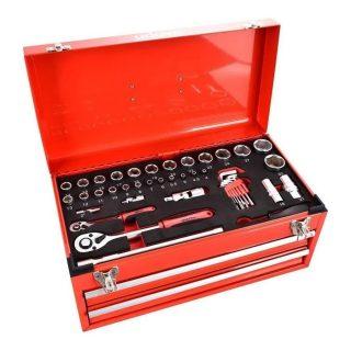 Caja de herramienta metalica 90 piezas UDOVO