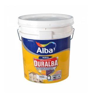 Latex acrilico para exterior duralba blanco  20 lts. ALBA
