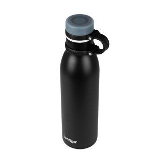 Botella termica negra CONTIGO
